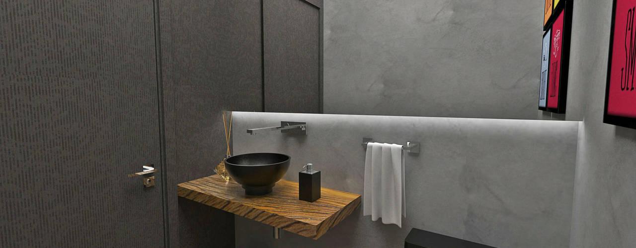 Bathroom by Atelier Par Deux, Eclectic