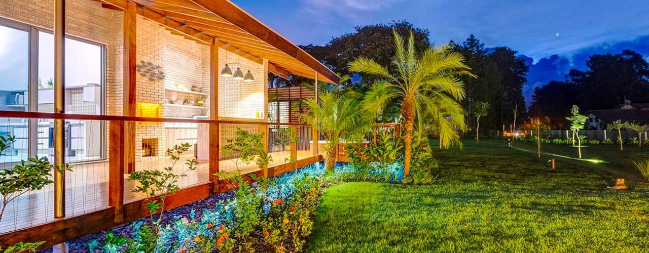 Residência P.D Casas rústicas por Zani.arquitetura Rústico