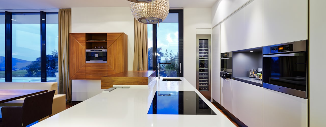 Haus E:  Küche von ZHAC / Zweering Helmus Architektur+Consulting