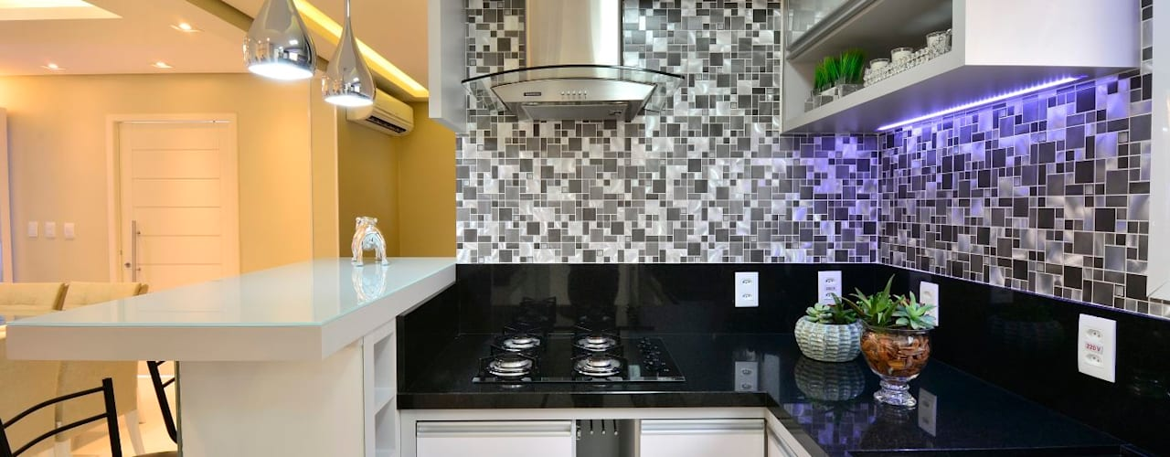 Cocinas de estilo  por Graça Brenner Arquitetura e Interiores