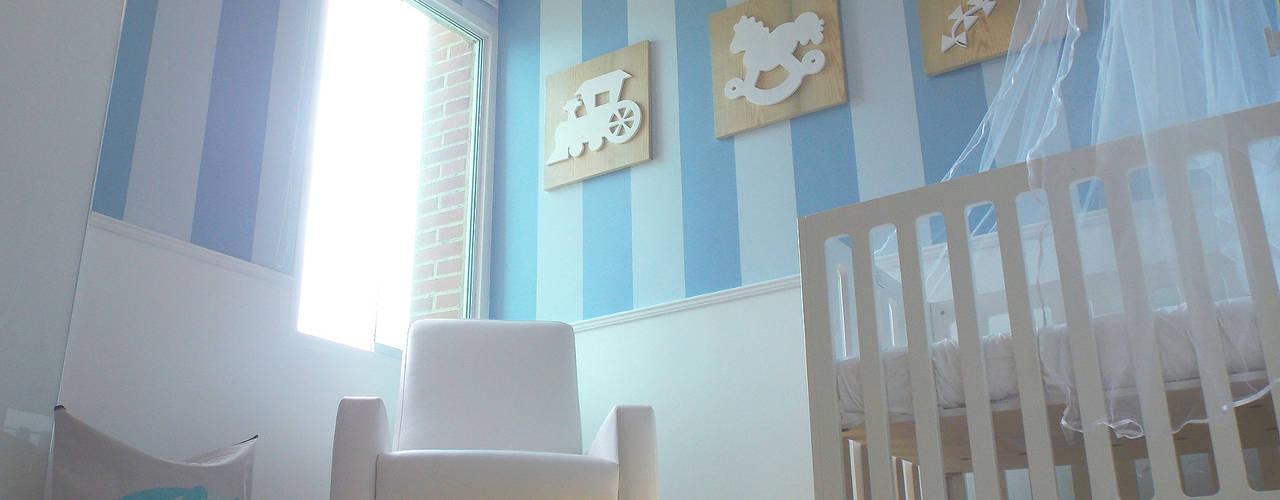 Dormitorios infantiles de estilo  por TRIBU ESTUDIO CREATIVO