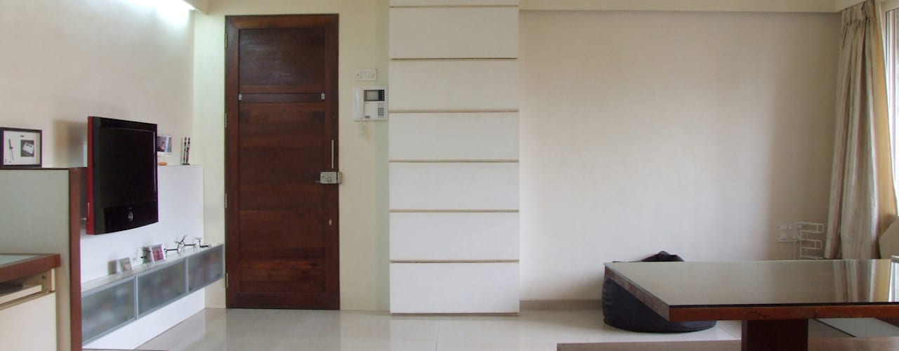 Studio Apartment Minimalist living room by The White Room Minimalist
