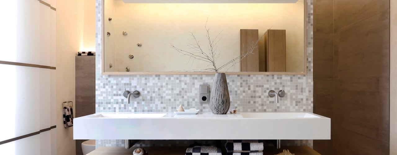 Badezimmer Tuba Design Moderner Spa Holz Weiß