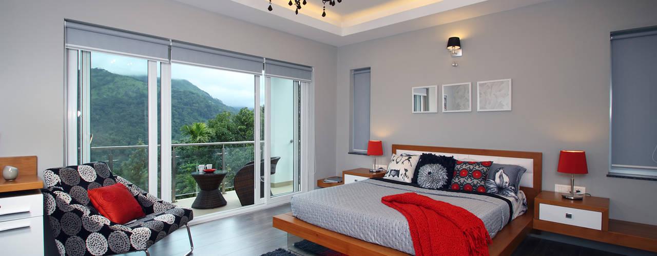 Cuartos de estilo  por Savio and Rupa Interior Concepts