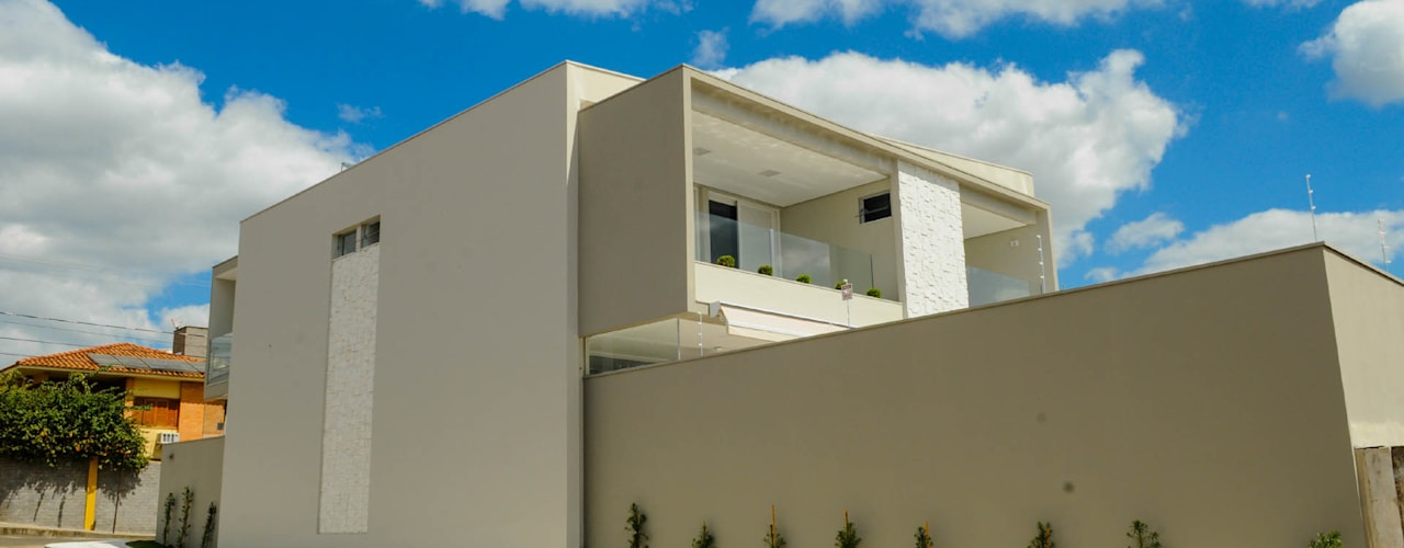 Houses by A/ZERO Arquitetura, Modern
