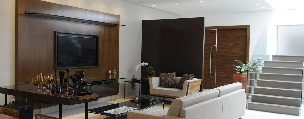 Salas / recibidores de estilo  por A/ZERO Arquitetura, Moderno