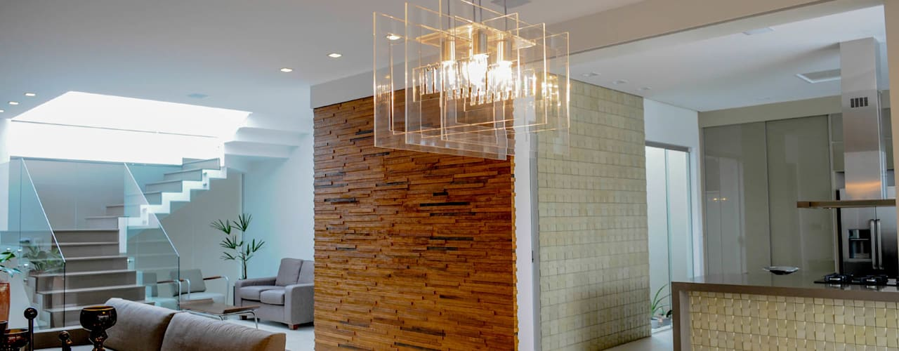 A/ZERO Arquitetura Modern dining room