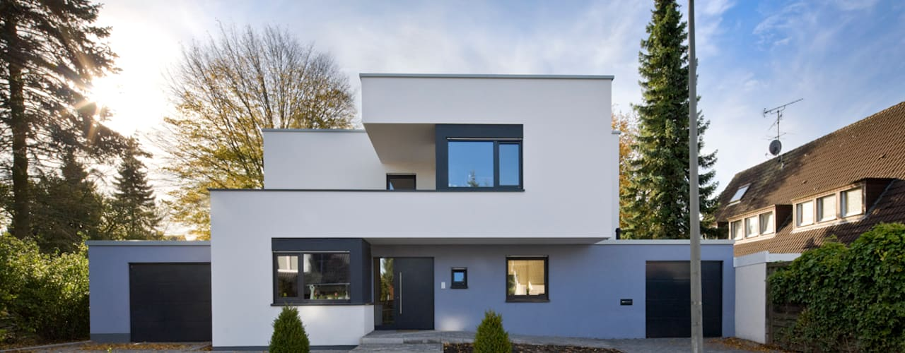 Modern houses by puschmann architektur Modern