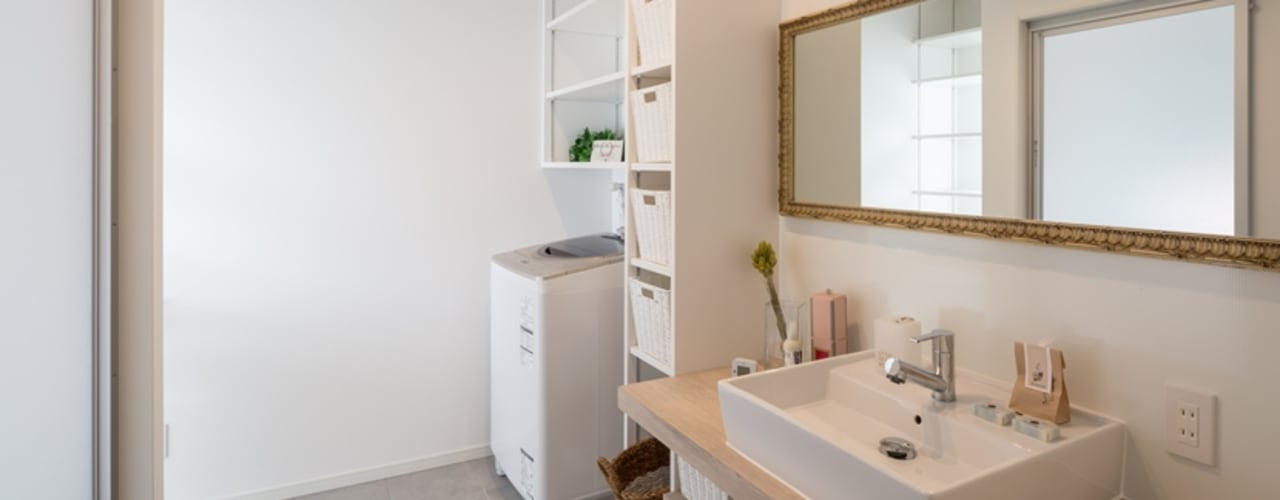 Baños de estilo  por LITTLE NEST WORKS