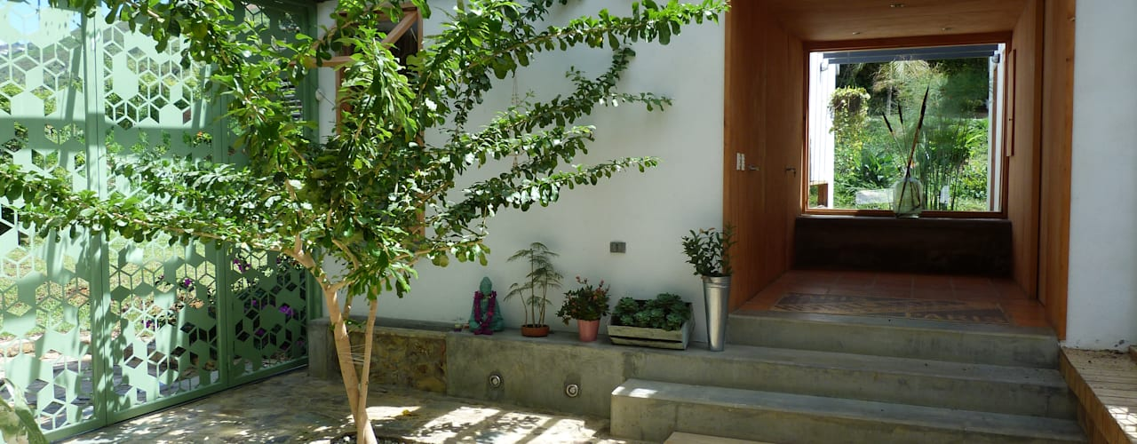Casa Copacabana Jardines de estilo moderno de interior137 arquitectos Moderno