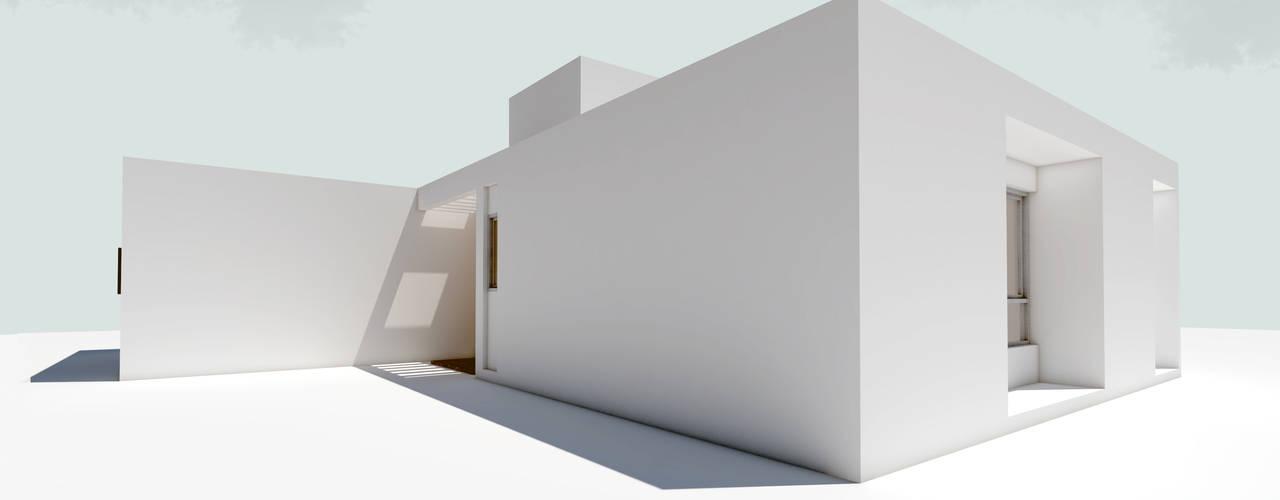 Rumah tinggal  by 1.61 Arquitectos