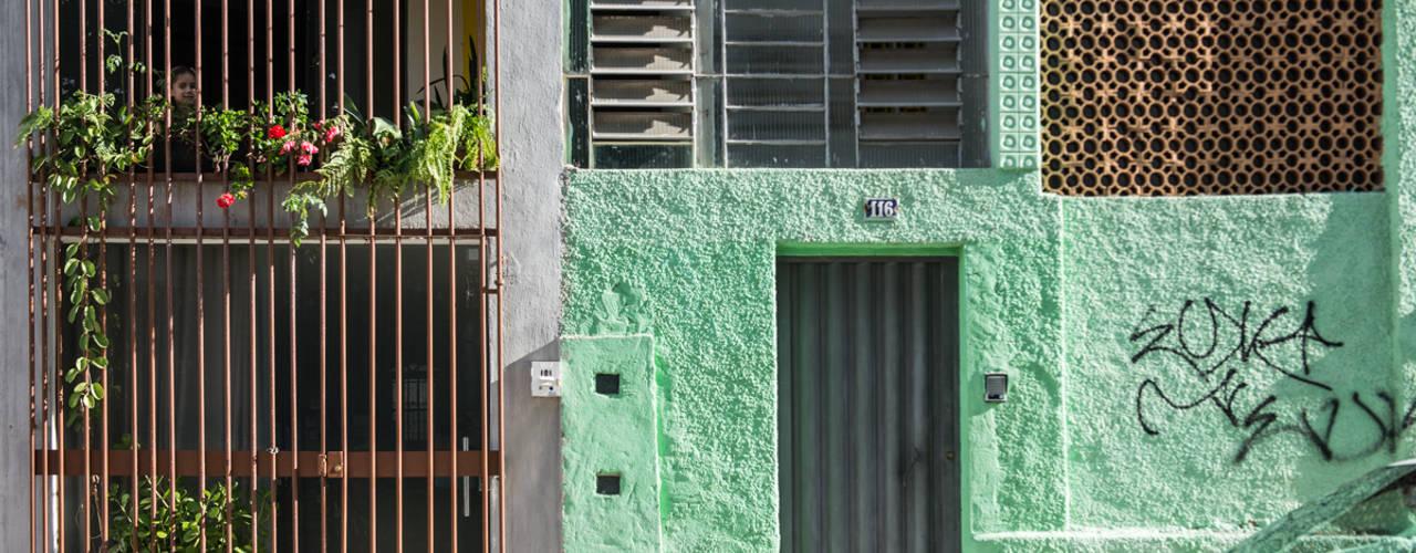 Casas de estilo  por MEIUS ARQUITETURA