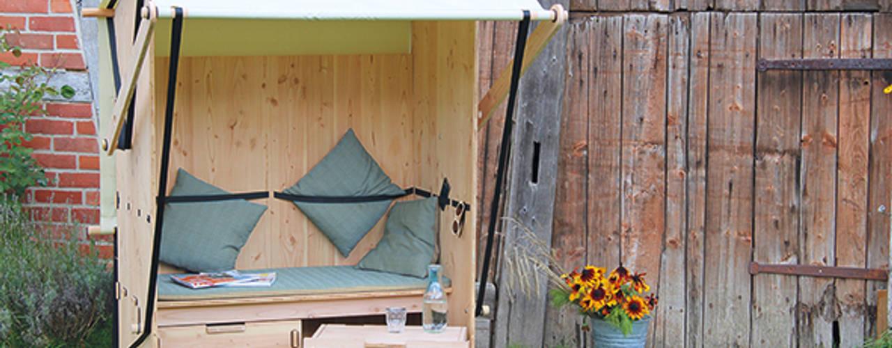 Strandbank für einen lässigen Sommer:   von Werkhaus Design + Produktion GmbH