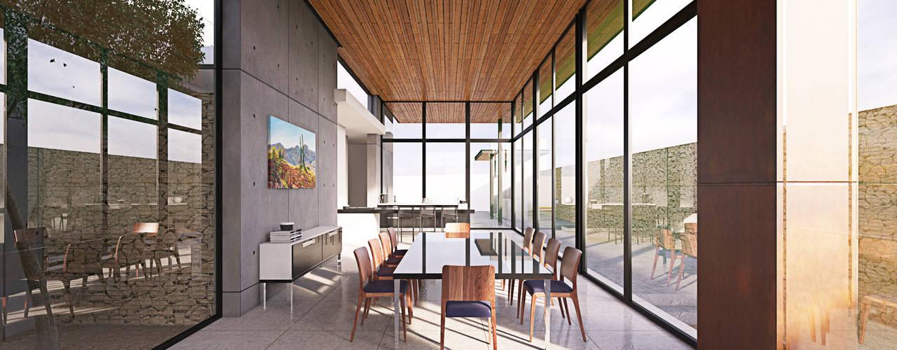 Dining room by Lozano Arquitectos, Modern