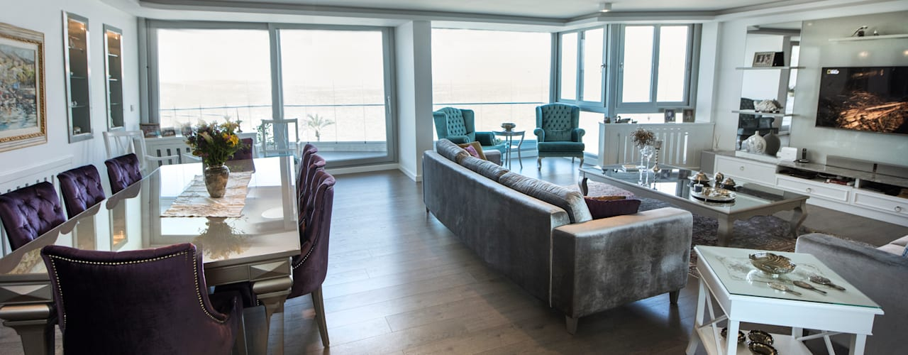 EBG Evi Modern Oturma Odası BAGO MİMARLIK Modern