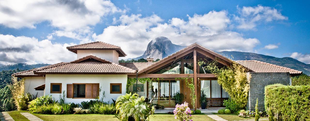 Residência de campo.: Casas  por Carlos Eduardo de Lacerda Arquitetura e Planejamento