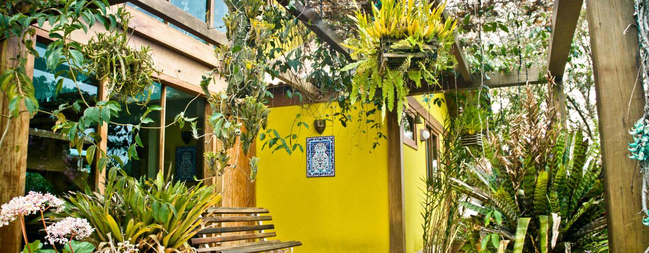 Terrazas de estilo  por Carlos Eduardo de Lacerda Arquitetura e Planejamento , Rural