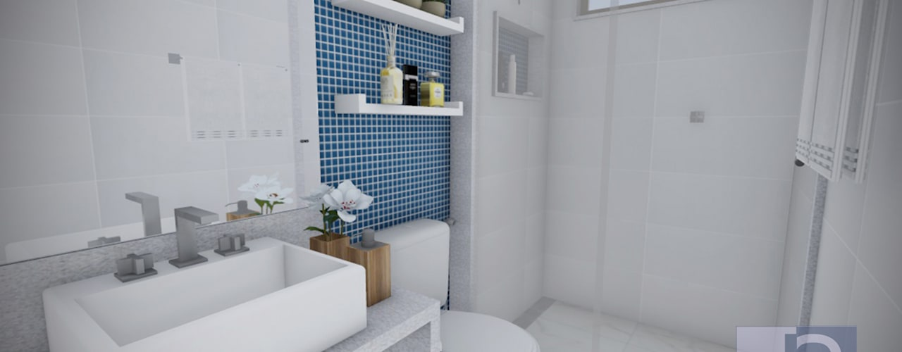 Badkamer door JS Interiores,