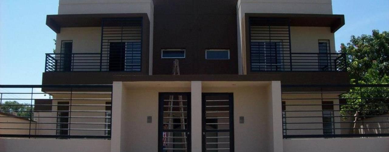 Viviendas - Duplex Casas minimalistas de Alejandro Acevedo - Arquitectura Minimalista Contrachapado