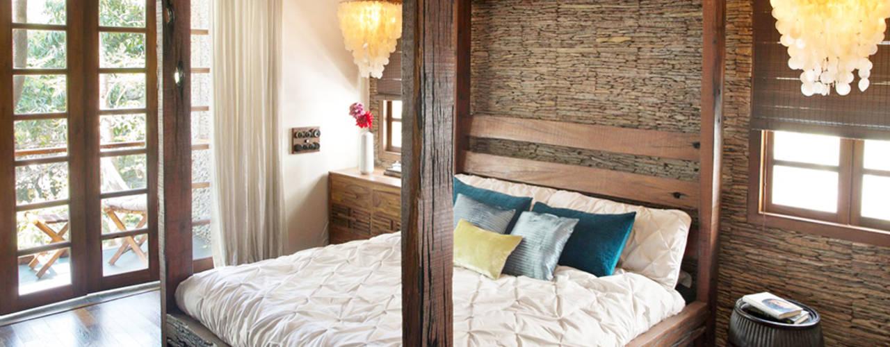 Rustic style bedroom by Nitido Interior design Rustic