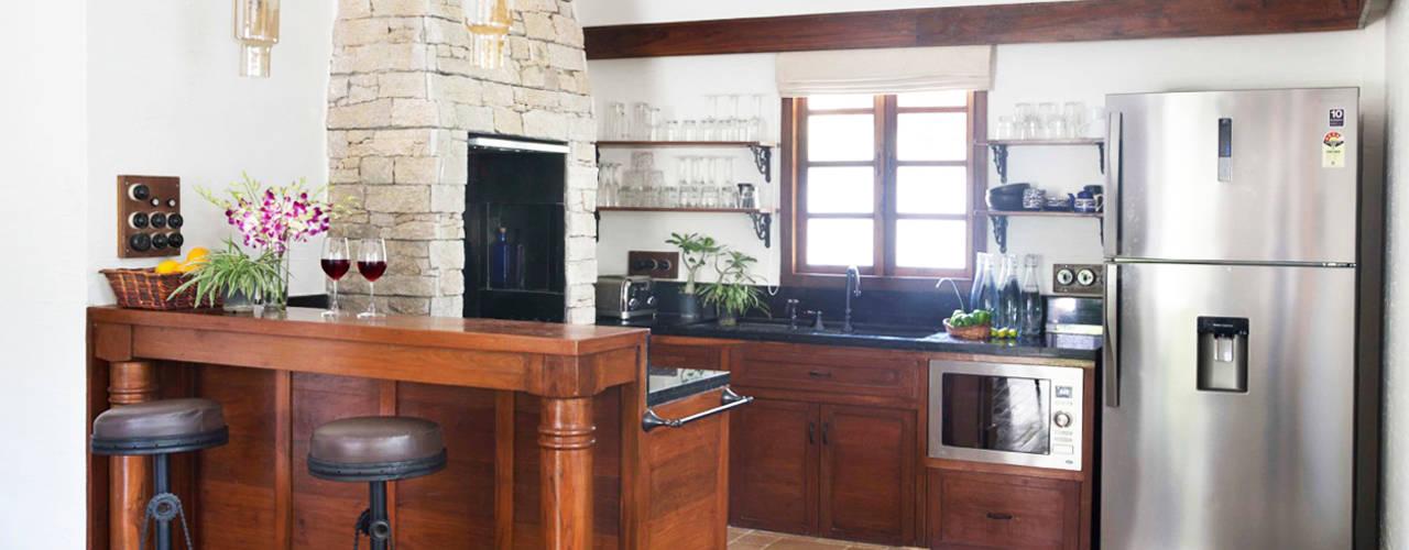 Cozinhas rústicas por Nitido Interior design Rústico