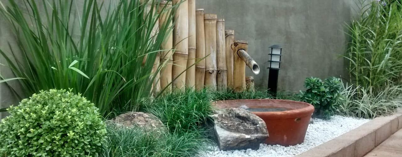 Jardines de estilo moderno de Borges Arquitetura & Paisagismo Moderno