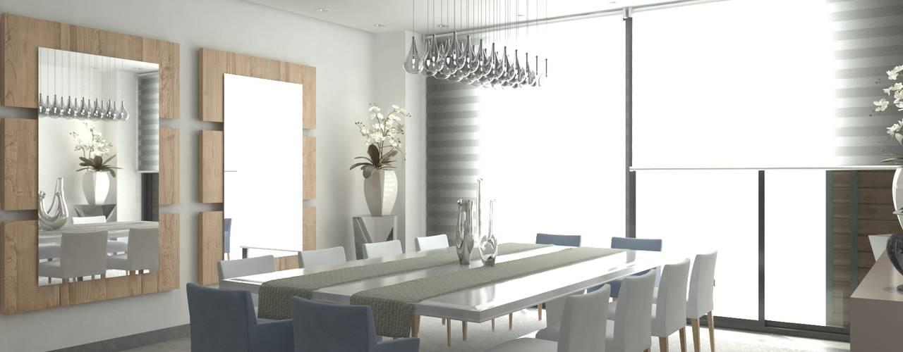 Comedor: Comedores de estilo  por Area5 arquitectura SAS