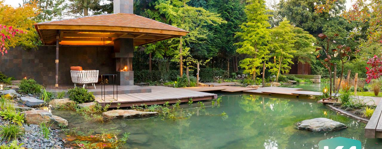 Jardines de estilo  por Van Mierlo Tuinen | Exclusieve Tuinontwerpen, Asiático