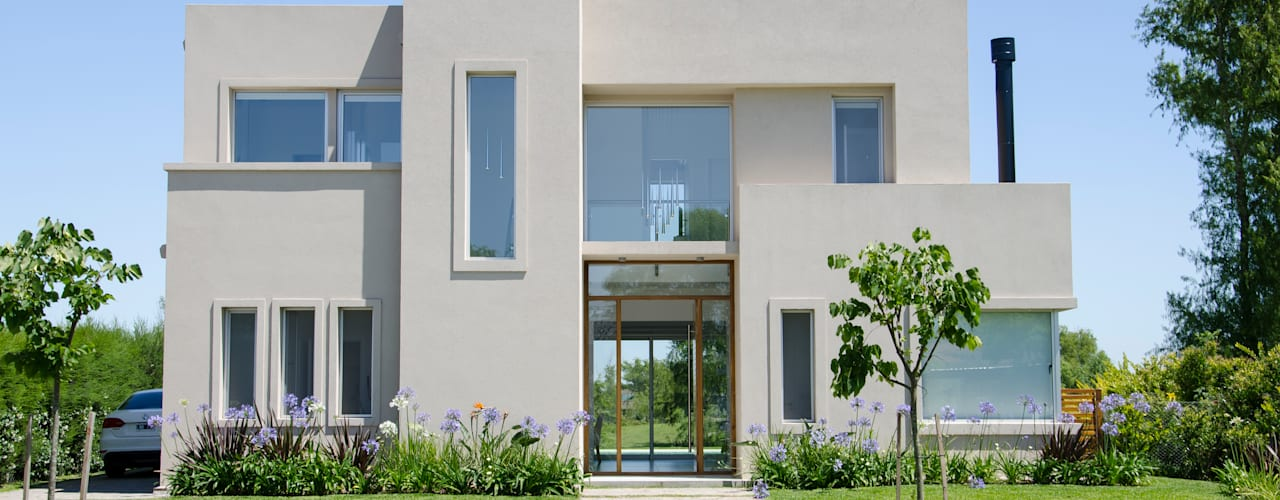 Дома в стиле модерн от Parrado Arquitectura Модерн