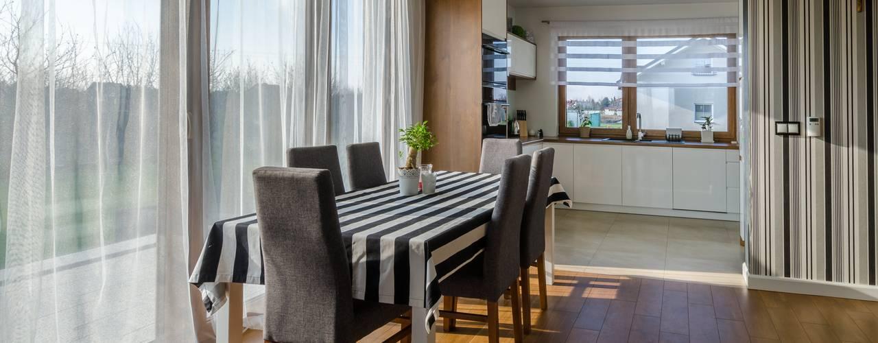 Modern Dining Room by Biuro Projektów MTM Styl - domywstylu.pl Modern