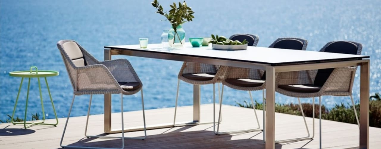 Mobiliário de exterior Outdoor furniture  http://intense-mobiliario.com/category.php?id_category=291  Egde http://intense-mobiliario.com/product.php?id_product=10935:   por Intense mobiliário e interiores;,