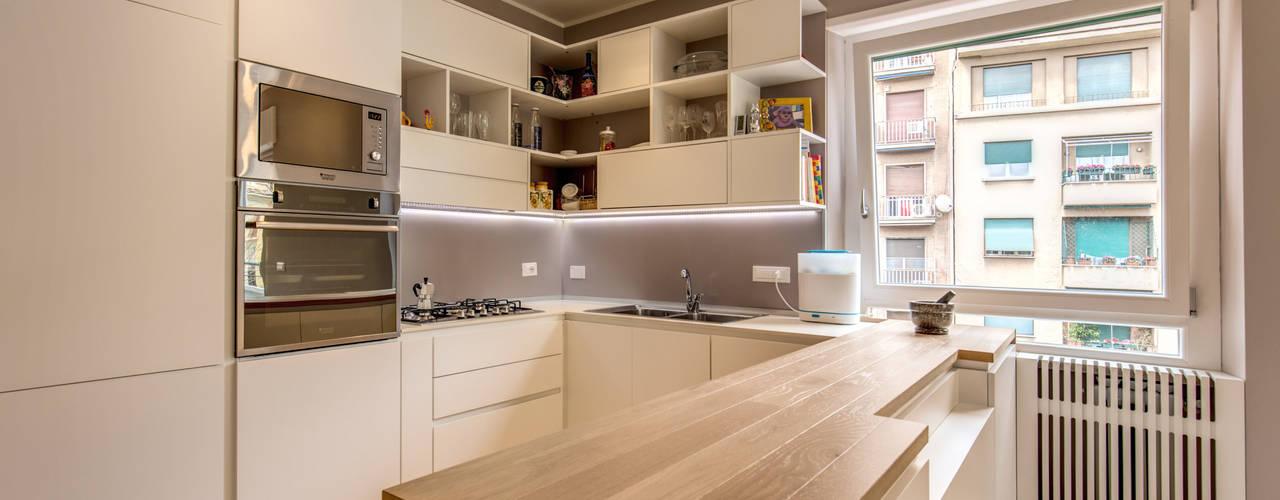 Cocinas de estilo  por MOB ARCHITECTS,