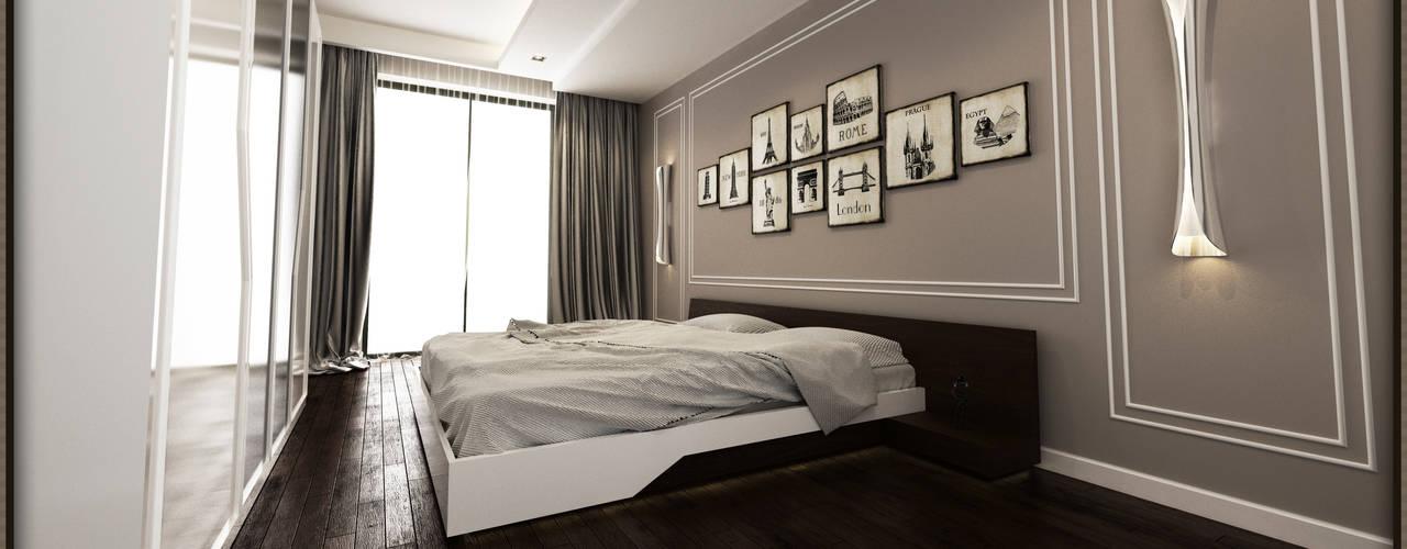 Phòng ngủ by W DESIGN İÇ MİMARLIK
