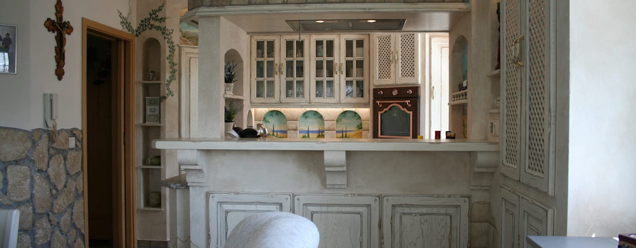 Cocinas de estilo mediterraneo por Villa Medici