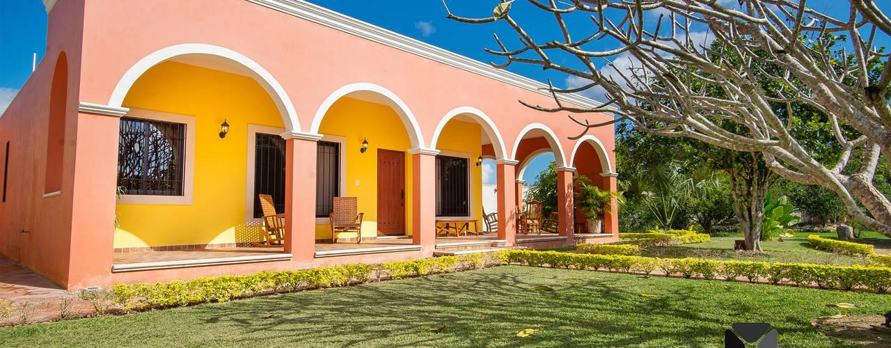 """Proyecto """"Quinta Hunucmá"""" PORTO Arquitectura + Diseño de Interiores Casas coloniales"""