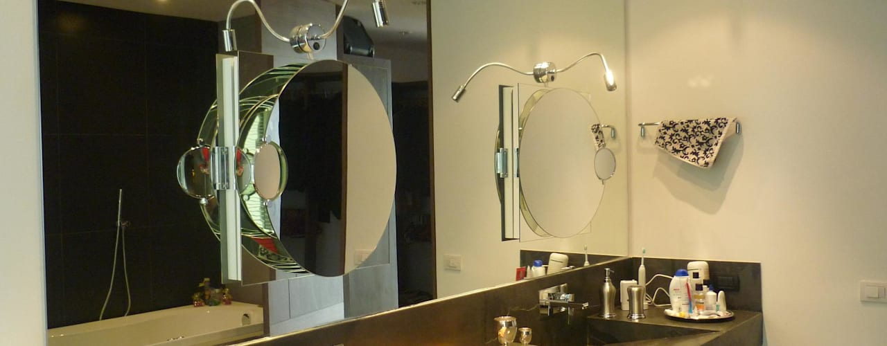 APTO 705 Peñas Blancas: Baños de estilo  por 57uno Arquitectura
