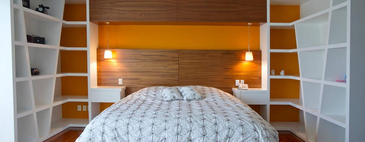 臥室 by DIN Interiorismo