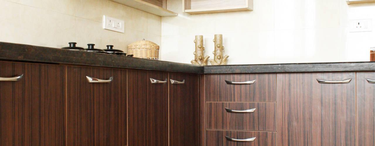 Interior work for a 3 bedroom apartment @ Anna Nagar:   by Ashpra interiors