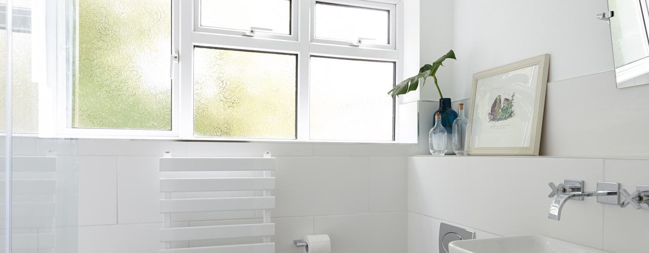 Virginia Water Apartment - Surrey Bhavin Taylor Design Ванная комната в стиле модерн