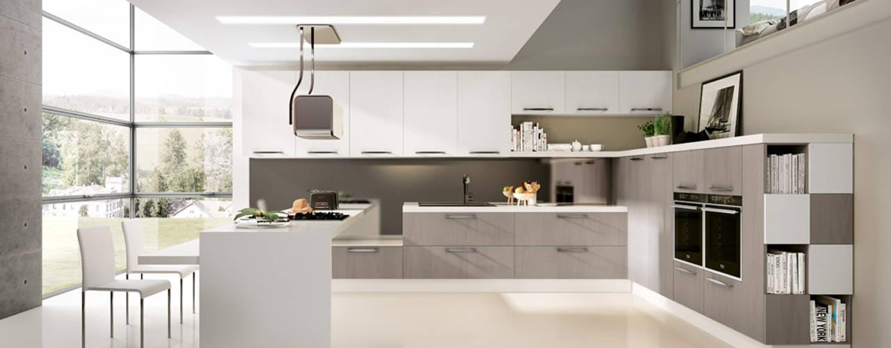 Modello Asia Cocinas de estilo moderno de DIEMME CUCINE S.r.l. Moderno