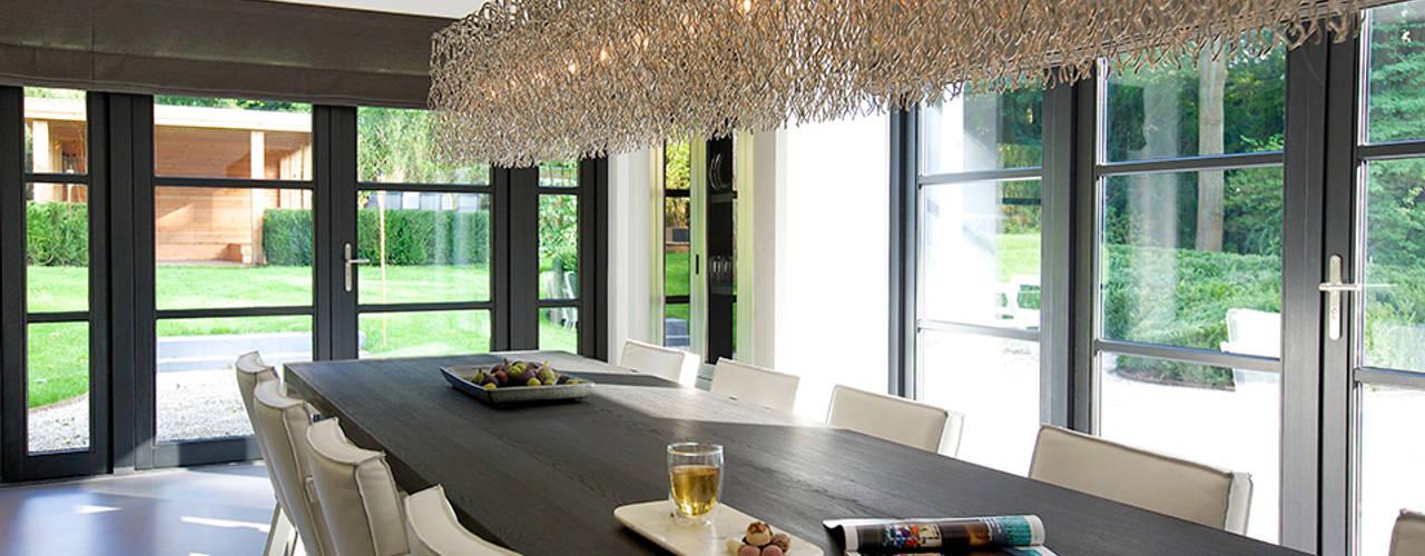 Villa in 't Gooi Designa Interieur & Architectuur BNA Moderne eetkamers
