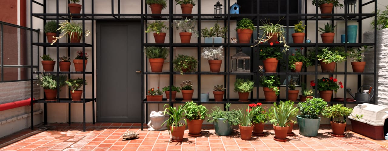 Modern style balcony, porch & terrace by Matealbino arquitectura Modern