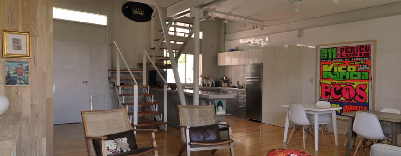 Modern Living Room by Matealbino arquitectura Modern