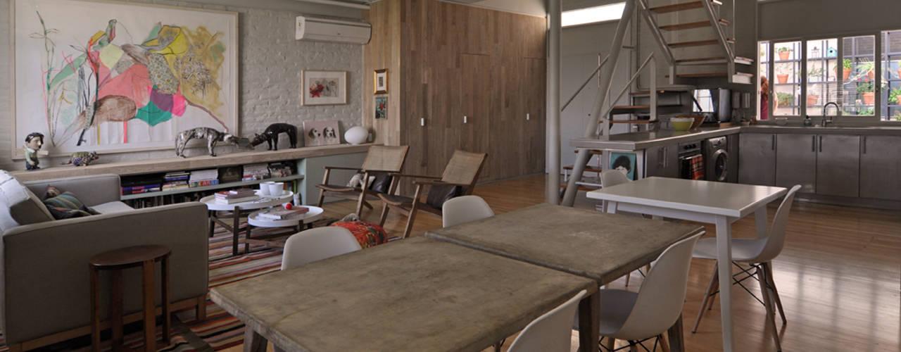 Dorrego Matealbino arquitectura Livings modernos: Ideas, imágenes y decoración