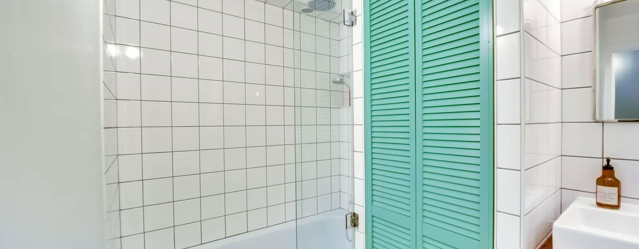 scandinavian Bathroom by blackStones