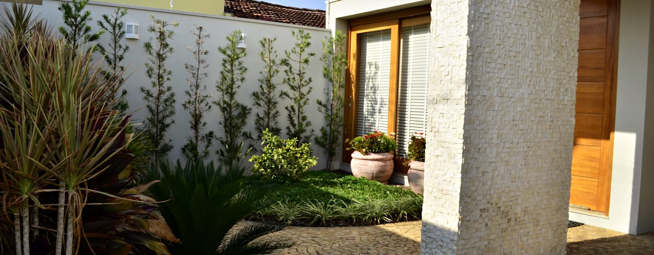 Jardin de style  par Lozí - Projeto e Obra