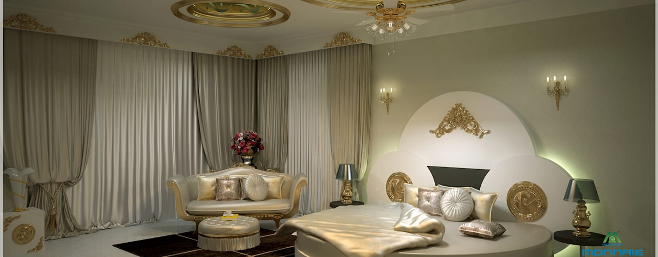 Fabulous Interior Design in Arabian Style Asian style bedroom by Premdas Krishna Asian