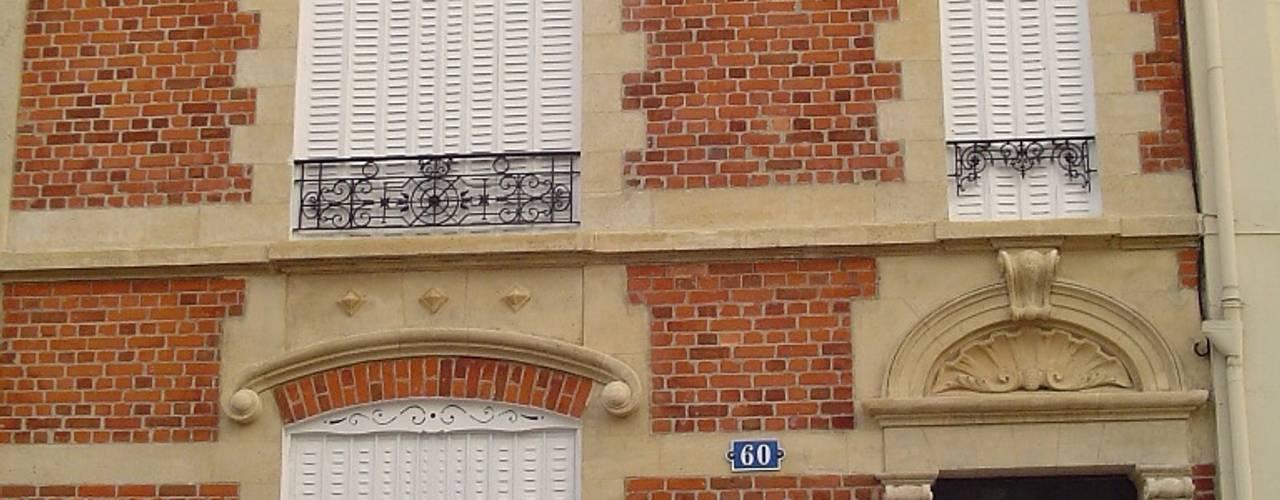 Restauration de façades - Pierre et brique Habitat et Tradtions