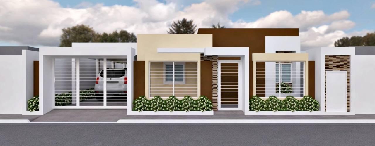 Casas de estilo  por om-a arquitectura y diseño