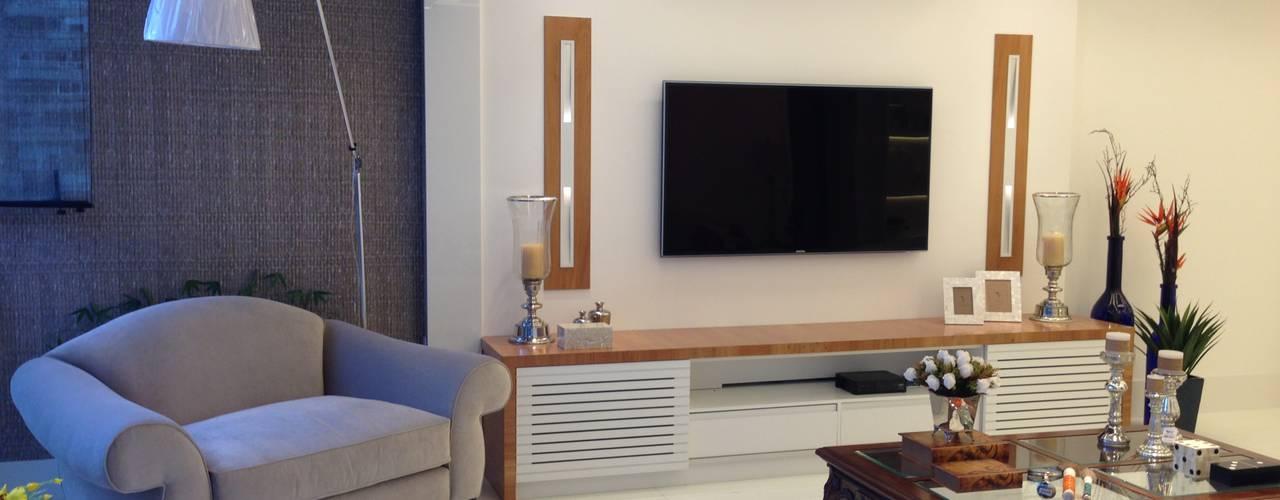 GEA Arquitetura Modern living room